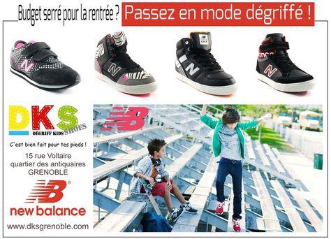basket enfant garcon new balance 26