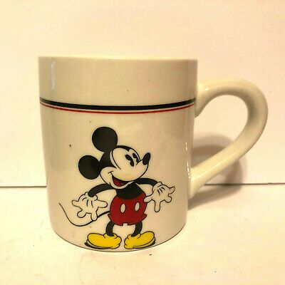 Vintage Disney Mickey Mouse Coffee Cup Mug Gabbay Mickey Co Child Size In 2020 Vintage Disney Disney Mugs Disney Mickey Mouse