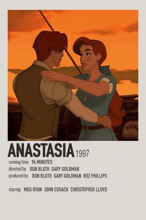 Anastasia polaroid movie poster