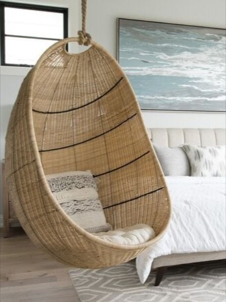 Pin On Wicker Hanging Chairs Swings
