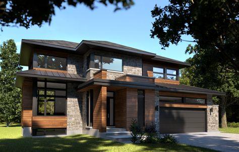 Nos Devis De Construction Exterieurs De Maison Moderne Maison