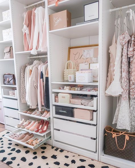 Tiny closets are a source of stress and frustration almost all small-space dwellers can relate to, but when you have to share that tiny closet with your