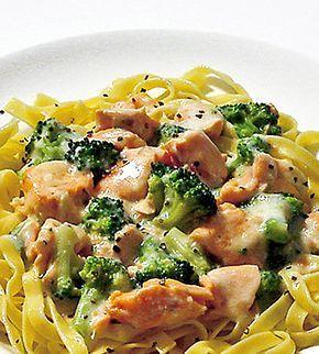 Pastasas Med Lax Och Broccoli Recept Med Bilder Pastasas