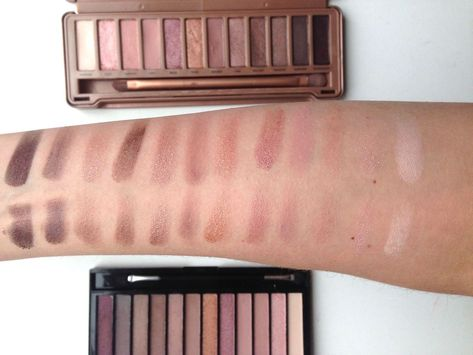 Dupe of the day : Urban Decay VS Makeup Revolution