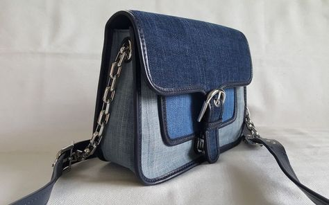 4e6d3f3c9386 Michael Kors Cooper Medium Messenger crossbody Indigo Light MSRP $334 D20  #fashion #clothing #shoes #accessories #womensbagshandbags ...