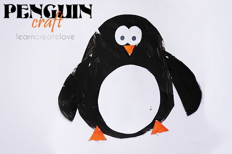 { Printable Penguin Craft }