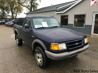 Ebay Advertisement 1997 Ford Ranger Xl 4x4 1997 Ford Ranger Xl 4x4 56150 Miles Blue Truck Standard Cab V 6 Cyl Automat Ford Ranger Ford Ranger Xl Ford Trucks