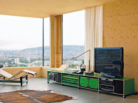 USM HALLER LOWBOARD AS MEDIA UNIT Sideboard by USM Modular - capri suite moderne einrichtung