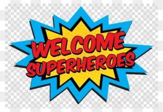 Casa Superhero Png Clipart Superhero Clip Art Diy Superhero Party Banner Transparent Png Clip Art Best Banner Design Banner