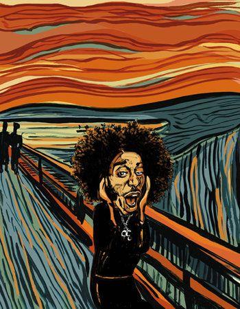 ludacris, onr of my bros favs.   Scream art