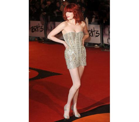 664e07bc10a2 Florence Welch, at The Brit Awards (2010) in Zuhair Murad Couture Spring  2010
