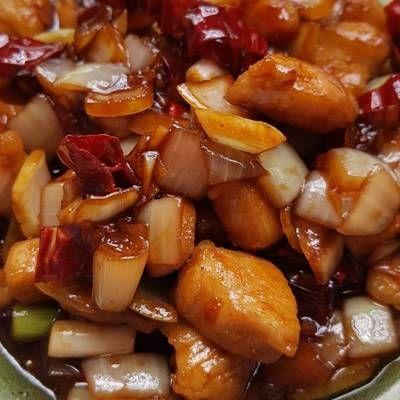 Ayam Kungpao Kungpao Chicken Resep Ayam Resep Ayam