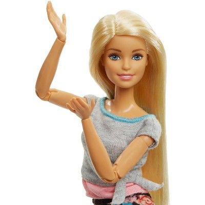 Barbie Made To Move Yoga Doll Floral Pink In 2020 Yoga Dolls Barbie Kids Fashion Country