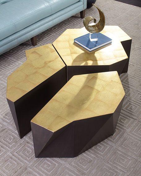 Dalton 3 Piece Modular Coffee Table Modular Coffee Table