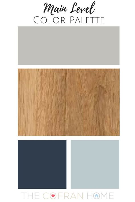 A great color guide and palette for the whole house!
