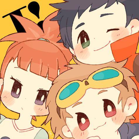 Rika, Takato, & Henry !!