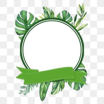 شريط عناصر الإطار من الأوراق الخضراء أخضر اوراق اشجار إطارات الصور Png وملف Psd للتحميل مجانا Flower Drawing Clipart Frames Free Leaf Clipart