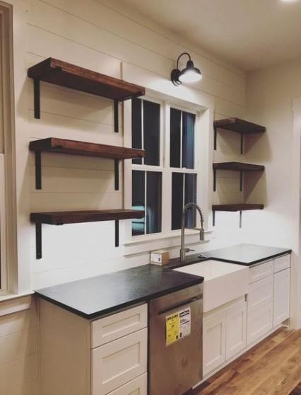 63 Trendy Kitchen Country Ikea Open Shelving Kitchen Remodel
