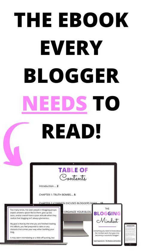The Blogging Mindset eBook