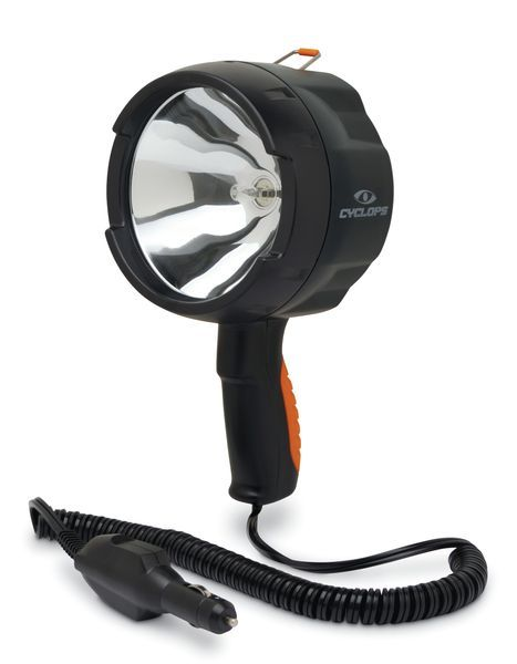 Cyclops Cyc Hs140012v 1400 Lumen 12v Dc Halogen Spotlight Outdoor Flashlight Spotlight Handheld Spotlight