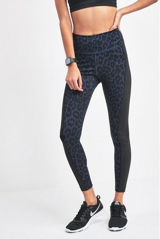 nike leggings leopard print