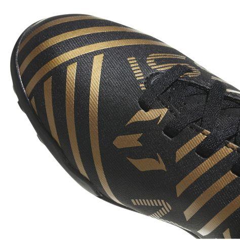 adidas Mens Nemeziz Messi 19.4 Astro Turf Trainers Football Boots Lace Up Studs