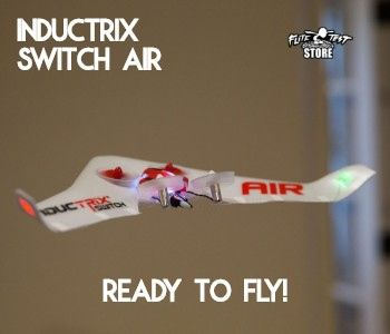Blade Inductrix Switch Air VTOL RTF Electric (355mm