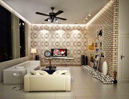 Motif Wallpaper Dinding Untuk Ruang