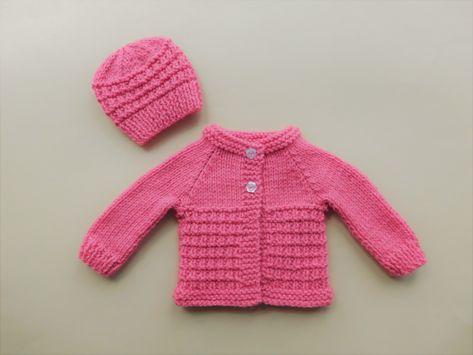 1406f1a3ce98 AMITY Baby Cardigan Jacket - Preemie