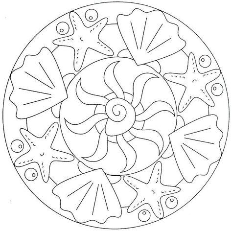 Mandala Boyama Sayfaları Okul öncesi Etkinlik Mandalas Mandala