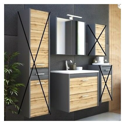 Badschrank Mit Waschbecken Und Spiegel Mit Bildern Badschrank