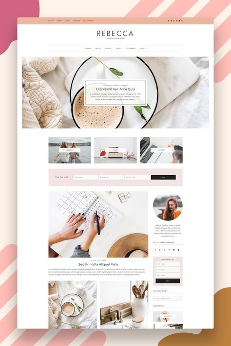 WordPress Theme - WordPress eCommerce Theme - Fashion WordPress Theme - WordPress Template