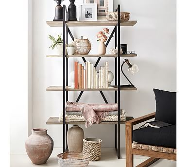 Dublin Modular Etagere Bookcase Pottery Barn In 2020 Bookcase