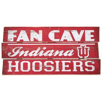 Legacy Athletic Indiana University Wooden Fan Cave