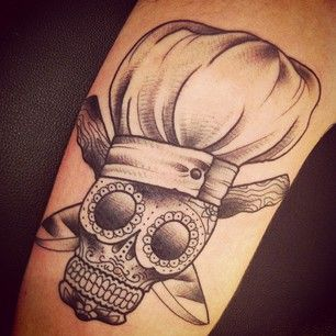 Skull Chef Tattoo - ColdTech Commercial