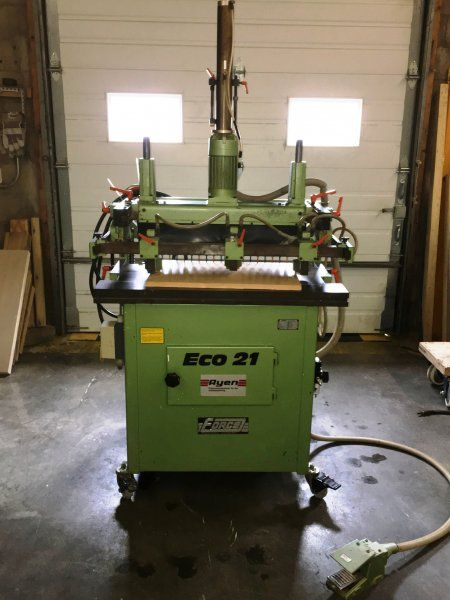 Ayen eco 21 line boring machine 32mm | Used Woodworking