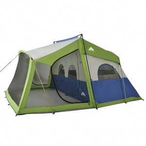 2 Room Cabin Tent With Screen Porch Campingtentsastuce Cabin Tent Tent Family Tent Camping