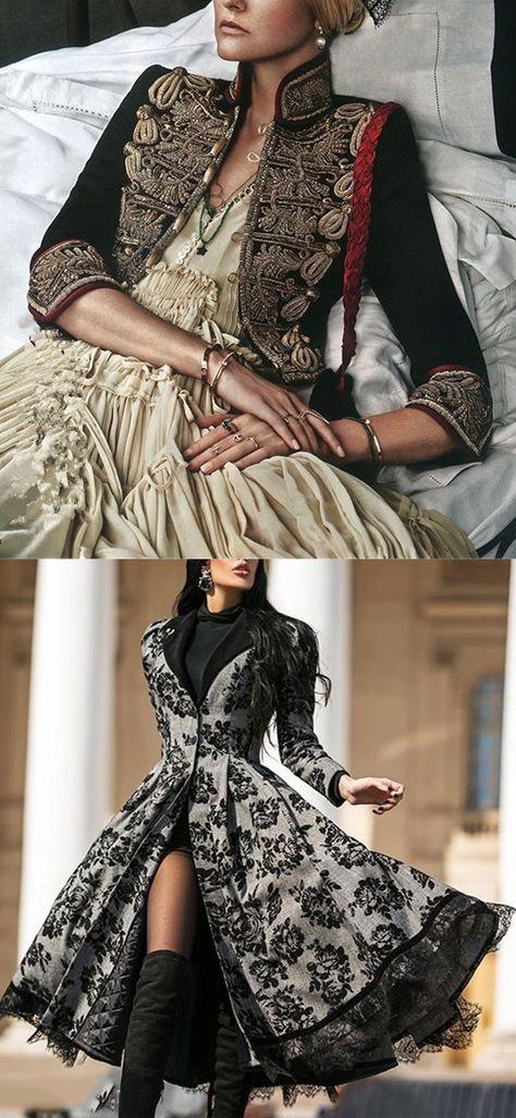 Stylish Ladies Embroidered Black Jacket