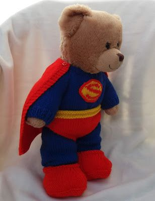 2f4b0c8f Linmary Knits: Teddy Bear Superhero Outfits | Crafts ideas | Teddy ...