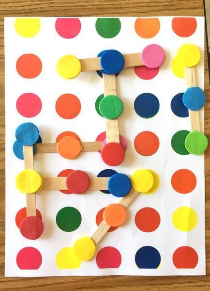 Color Dots Links Logic Game Educacao Infantil Infantil Ideias