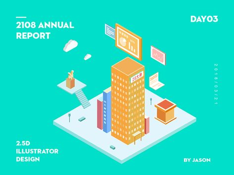 2.5D Illustrator Annual Report