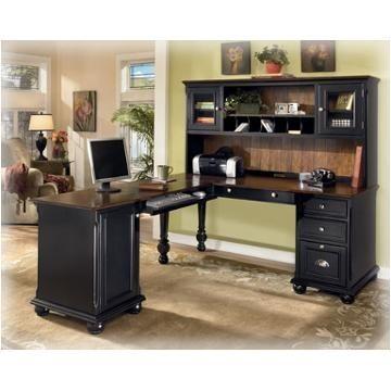 Image Result For Black Corner Desk Ashley Furniture Modular Home Office Furniture Home Office Furniture Design Small Home Office Furniture