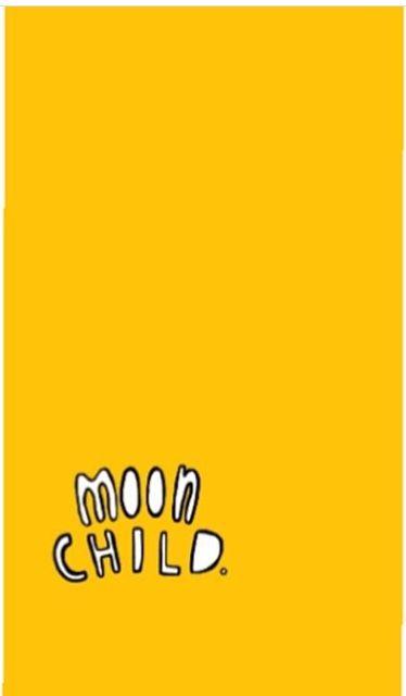 Wallpaper Yellow Moon Child Cute Moon Child Cute Wallpapers Wallpaper Wa