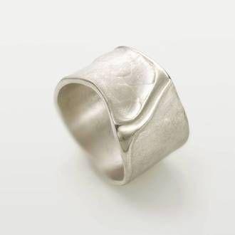 Ongekend Zilveren ringen: originele, handgemaakte ringen en sieraden in UQ-94