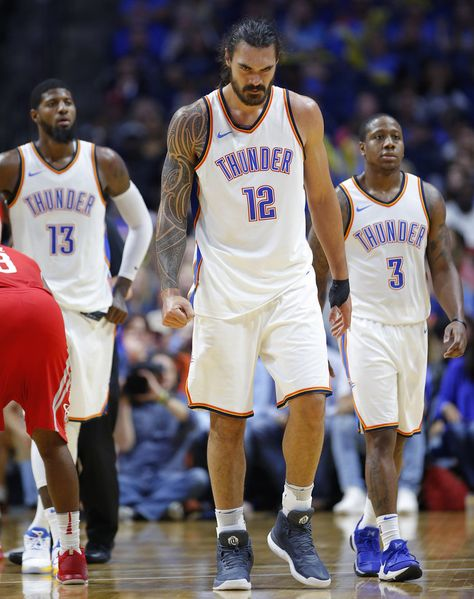 OKC falls to Houston in Thunder's first preseason game - Photo Gallery