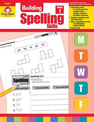 Download Pdf Building Spelling Skills Grade 1 Full Pages Spelling Words Word Sorts Word Practice