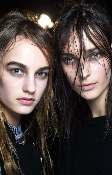 Smoky eyes at Alexander Wang