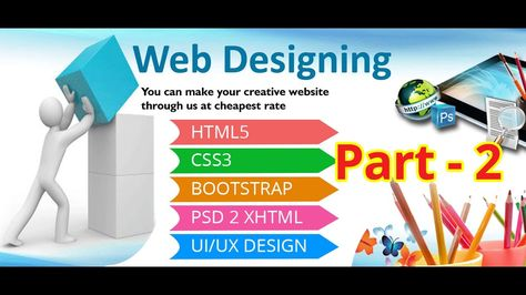 News Videos More Web Design Part 2 Web Design Basic Course How To Mak Website Design Company Website Development Company Fun Website Design