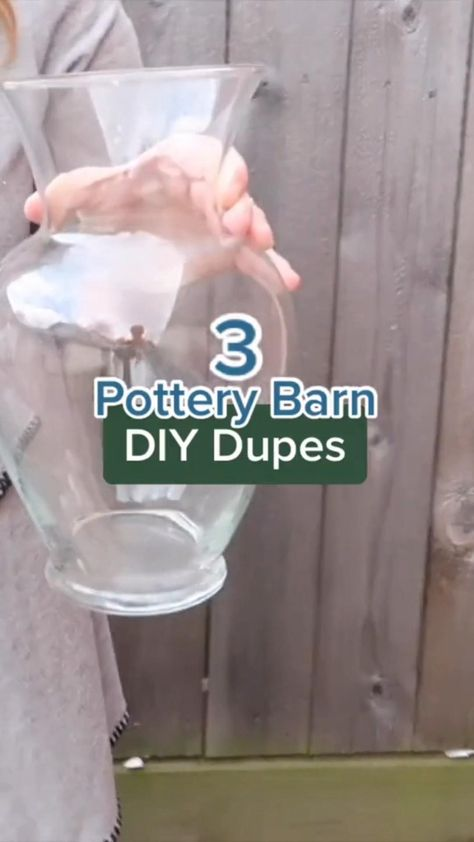 3 Pottery Barn Inspired DIY Home Decor on a Budget