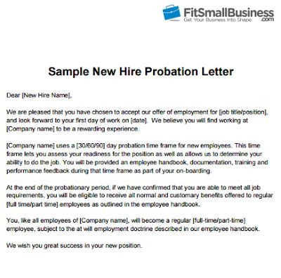 Sample Of Letter Of Employment Contract Basis